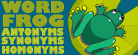 Word Frog:Grades 2 and up