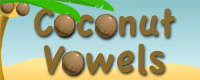 Coconut Vowels: Grades 2 and up
