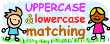 Upper and Lower Case Letter Matching Grades Prek-k